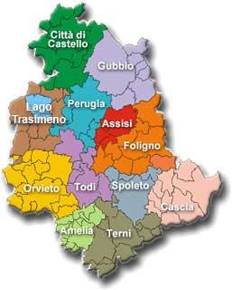 Italy Umbria Region holidays in Italy in Umbria